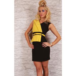 Business Girl Dress, Girl Dress Yellow, Girl Dress, #N4527