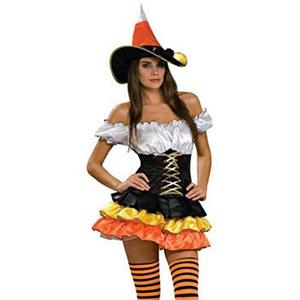 Candy Corn Cutie Adult Medium Costume, Sexy Candy Corn Costume, Cheap Women