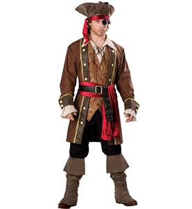 Captain Skullduggery Pirate Costume P7835