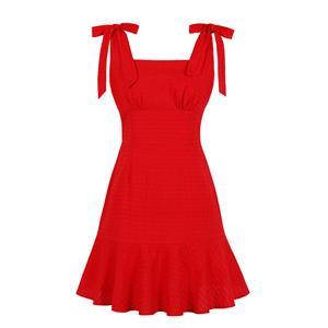 Fashion OL Dress, Fashion Summer Mini Dress, Sexy High Waist Dress, Cheap Party Dress Wholesale, Retro Dresses for Women, Summer Vintage Dresses, Plus Size Summer Dress, Vintage High Waist Dress, Simple Summer Dresses, #N19080
