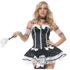 French Maid, Dusting Maid, Sexy Servant, French Maid Kit, #CP1778