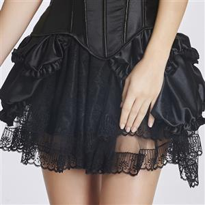 Sexy Black Dancing Skirt, Cheap Women