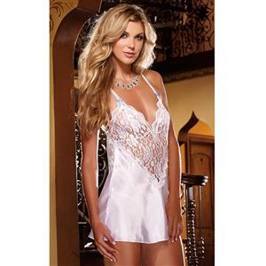 Sexy Babydoll Dress White, Valentine