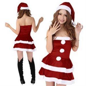 Miss Santa Dress, Sexy Santa Dress, Sexy Santa Costume, #XT6376