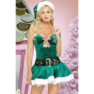Christmas Kandy Halter Dress XT3038