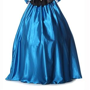 Palace Style Skirt,Gloss Maxi Skirt, High Waist Maxi Skirt, #N9304