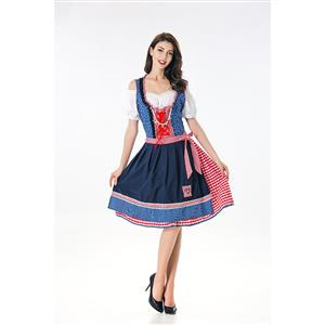 Classical Germany Beer Girl Adult Oktoberfest Costume N17990