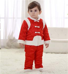 Classical Red Baby Tang Suit Costume N9798