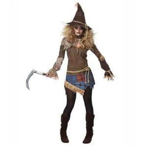 Creepy Scarecrow Costume, Cheap High Quality Costume, Sexy Scarecrow Costume, Hot Selling Halloween Costume, Women
