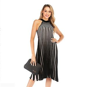 Sexy Striped Dress, Vintage Sleeveless Cut-away Shoulders Cocktail Party Dress, Fashion Casual Office Lady Dress, Sexy Tea Party Dress, Retro Party Dresses for Women 1960, Vintage Dresses 1950