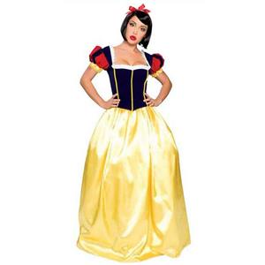 Cute Adult Snow White Fairy Tales Long Costume N9560