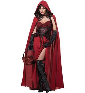 Dark Red Riding Hood Costume N9156