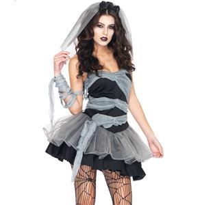 Dead and Buried Bride Costume, Dead Bride Costume, Halloween Costumes Dead Bride Costume, #N4408