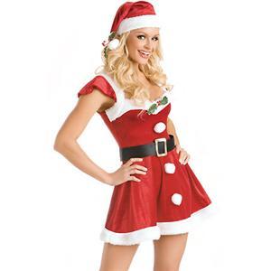 Sexy Santa Costumes, Xmas Lingerie, Sexy Santa Lingerie, Exotic Santa Costume, Sexy Christmas costume wholesale, #XT2219