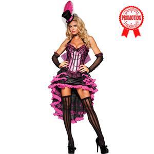 Deluxe Burlesque Beauty Costume, Burlesque Halloween Costume, Purple Burlesque Costume, Deluxe Halloween Costume, #N6599