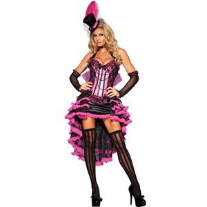 Deluxe Burlesque Beauty Costume, Burlesque Halloween Costume, Purple Burlesque Costume, Deluxe Halloween Costume, Burlesque Adult Costume,#N6599