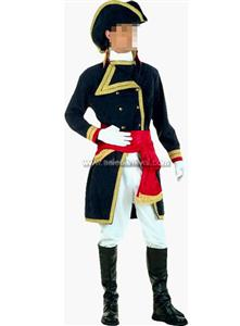 Deluxe Captain Quinn Pirate Costume, Pirate Costumes for Couples, Pirate Costumes for Men, #N5083