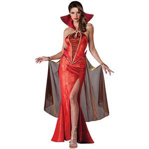 Deluxe Devilish Delight Costume, Deluxe Red Devil Costume, Deluxe Devil Costume, Deluxe Devil Dress Costume, Luxury Devil Costume, Sexy Red Devil Costume, Deluxe Halloween Devil Costume#N6239