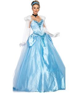 Deluxe Disney Cinderella Costume, Deluxe Princess Cinderella Costume, Princess Cinderella Costume, #N6185