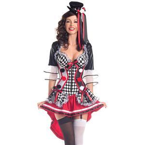 Deluxe Harlequin Costume N5942