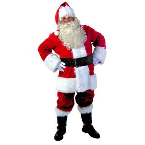 Premier Santa Suit, Santa Claus Costume, Santa Claus Suit, Santa Claus Adult Costume, Santa Suit for Men, #XT15114
