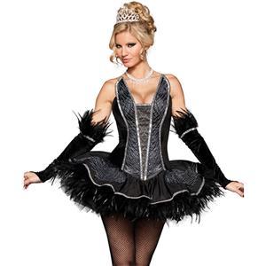 Deluxe Seductive Swan Costume N5103