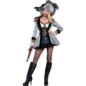Sexy Halloween Costume, Cheap Pirate Costume, Women