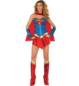 Deluxe Sexy Supergirl Costume N10691