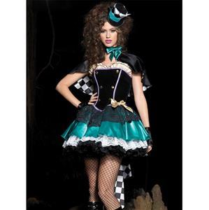 Deluxe Tea Time Mad Hatter Costume N4419