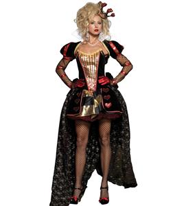 Deluxe Wonderland Queen Costume, Deluxe Red Queen Costume, Deluxe Evil Queen Costume, #N2403