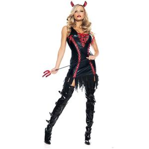 devil halloween costume, Devilicious Witch Costume, Wicked red devil costume, #N6106