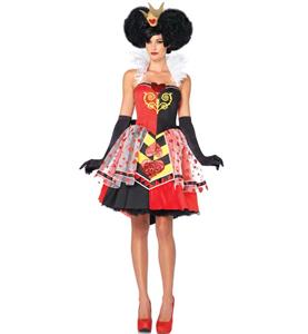Disney Queen Of Hearts Halloween Costume N9370
