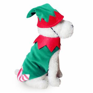 Dog Elf Costume, Pet Festive Clothing, Dog Christmas Elf Costume, Dog Clothes, #XT12355