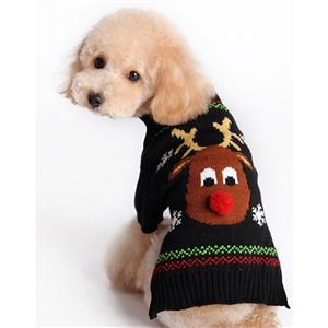 Christmas Pet Sweater Small Dog Clothing N12269