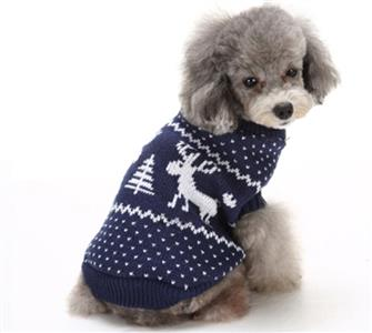 Pet Sweater, Pet Clothing for Small Dog, Dog Christmas Costume, #N12276