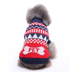 Pet Sweater, Pet Clothing for Small Dog, Dog Christmas Costume, Pet Dog Christmas Sweater, #N12374