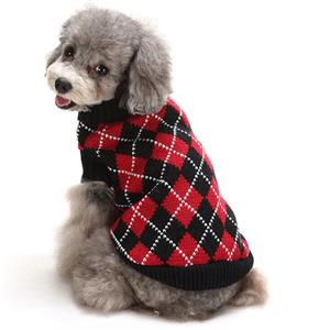 Pet Sweater, Pet Clothing for Small Dog, Dog Christmas Costume, Pet Dog Christmas Sweater, #N12380