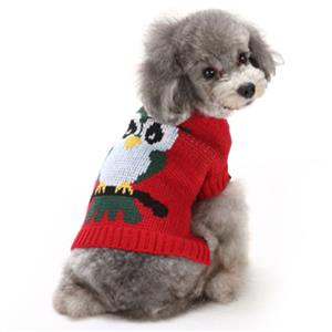 Pet Sweater, Pet Clothing for Small Dog, Dog Christmas Costume, Pet Dog Christmas Sweater, #N12381