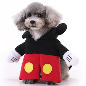 Dog Mickey Costume, Pet Dressing up Party Clothing, Dog