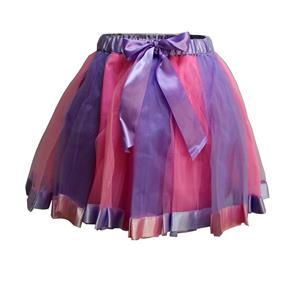 Corset Mini Skirt, Gothic Cosplay Skirt, Halloween Costume Skirt, Gothic Organza Short Skirt, Elastic Skirt, Irregular Cropping Skirt, Lovely Mini Skirt, #HG20210