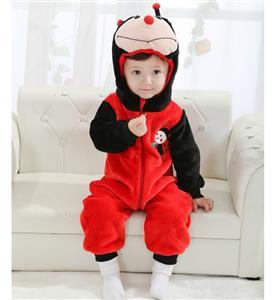 Ladybug Jumpsuit Romper Baby, Halloween Ladybug Costume Baby, Red Ladybug Climbing Clothes baby, #N6293
