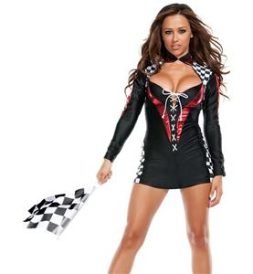 Racer Girl Costume, Sport Costume, Hot Sale Women