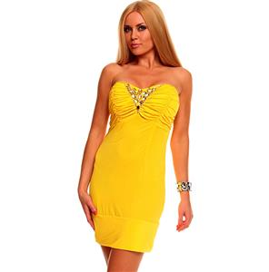 Dress Sexy Best Emilie Yellow N5145