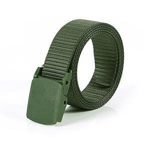 Olive Drab Soldier Wasit Belt, Fashion Durable Nylon Waist Belt, Men