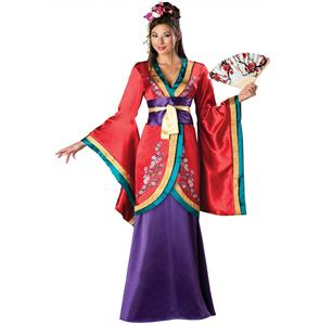 Far East Empress Elite Ladies Costume, Kimono Kutie Oriental Costume, eastern royal empress costume, #N5619