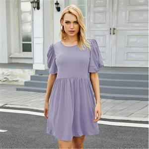Fashion Round Neck Dress, Fashion Mini Dress, Beachwear High Waist Dress, Cheap Party Dress Wholesale, Retro Dresses for Women 1960, Vintage Dresses 1950
