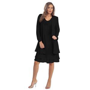 Simple OL Dress Set, Fashion Suit for Women, High Street Dress for Women, High Fashion Summer  Dress, Vintage Dress for Women, Fashion Dresses for Women, Simple OL Dress Suit, #N18743