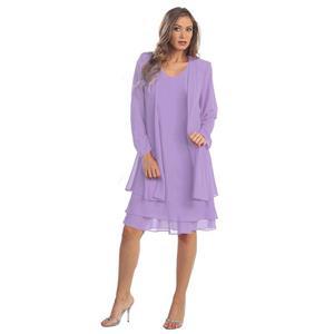 Simple OL Dress Set, Fashion Suit for Women, High Street Dress for Women, High Fashion Summer  Dress, Vintage Dress for Women, Fashion Dresses for Women, Simple OL Dress Suit, #N18748