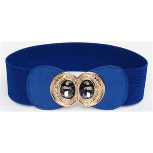 Metal Waist Belt, Buckle Fastening Waist Belt, Fashion Waist Belt, Elastic Waist Belt, Waist Belt for Women, #N15377