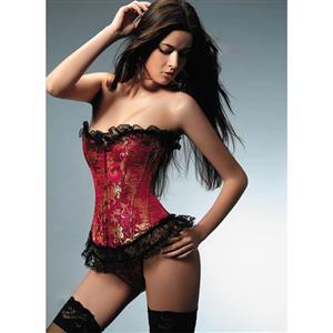 Gorgeous Corset, Corset, satin tapestry corset, #N2057